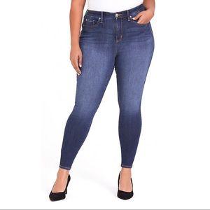Torrid Size 18 High Rise Curvy Skinny Jeans